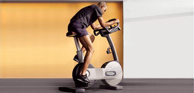 Интервальная тренировка на велотренажере