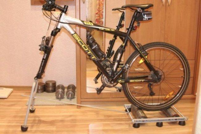 Плюсы и минусы изготовления велотренажера своими руками