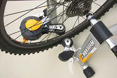Прижимные ролики на самодельный велотренажер