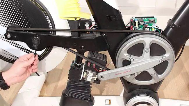 Как натянуть ремень на велотренажере